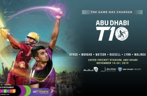 Abu Dhabi T10 Cricket League 2019 Teams and their full squads
