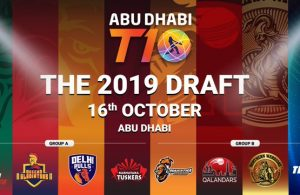 Abu Dhabi T10 League 2019 Players Draft | Draft of T10 League 2019