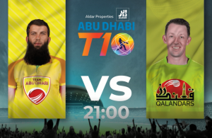 T10 League 2019: Qalandars vs. Team Abu Dhabi- Preview & Prediction