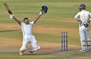 Ranji Trophy: Sarfaraz Khan follows Triple ton with unbeaten Double Hundred