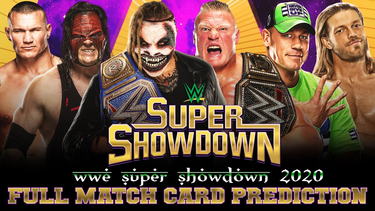 2020 WWE Super ShowDown Match Card, Start Time, Rumors & Predictions