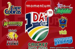 Momentum One Day Cup 2020 Schedule, Match Time Table & Venues