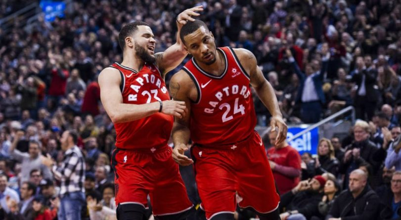 Image result for fred vanvleet and norman powell
