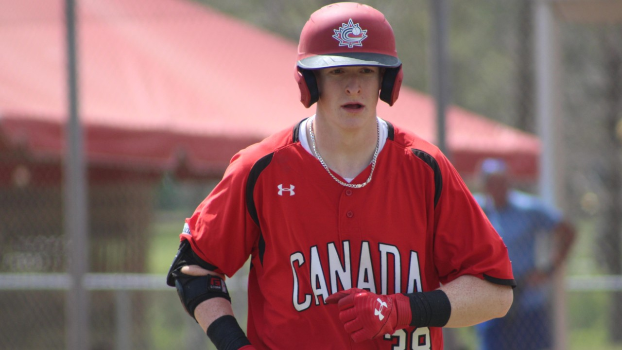 Photo of Canadian slugger Owen Caissie on what it meant to listen to his title, get drafted by the San Diego Padres – Sportsnet.ca