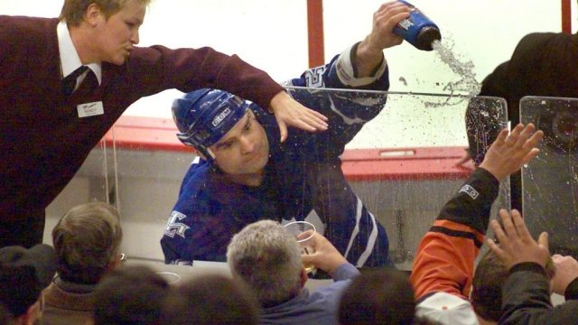 Remember When Tie Domi Fought A Fan In The Penalty Box?! - Sportsnet.ca