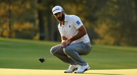Dustin Johnson Painting A Masterpiece After 3 Rounds At Masters