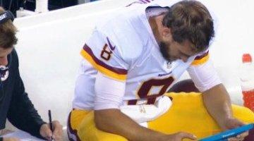 Kirk Cousins sensational in Redskins win over Eagles