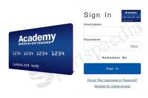 Academy Credit Card Login - Academy Credit Card