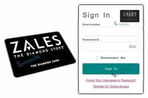 Zales Credit Card Login Online - Zales The Diamond Card
