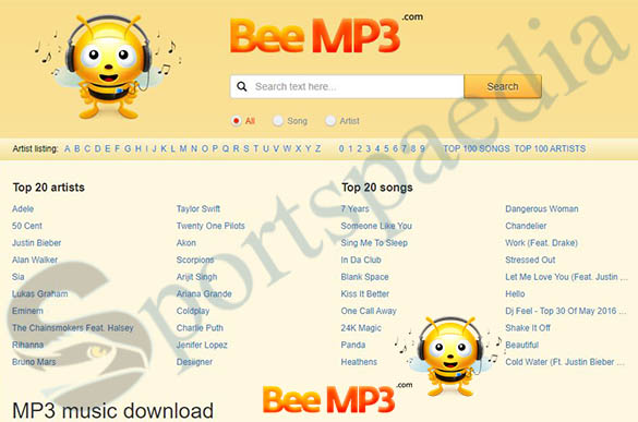 BeeMp3 - Free MP3 Music Downloads   Bee Mp3 Download