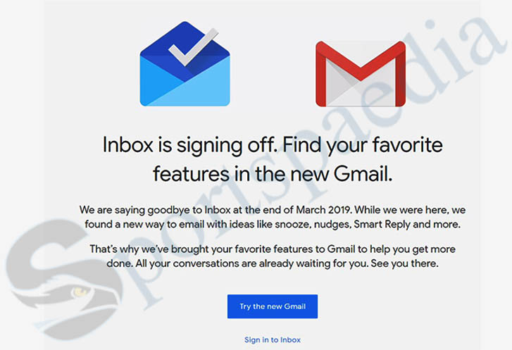 Inbox by Gmail - Login to Gmail, Check out the New Gmail