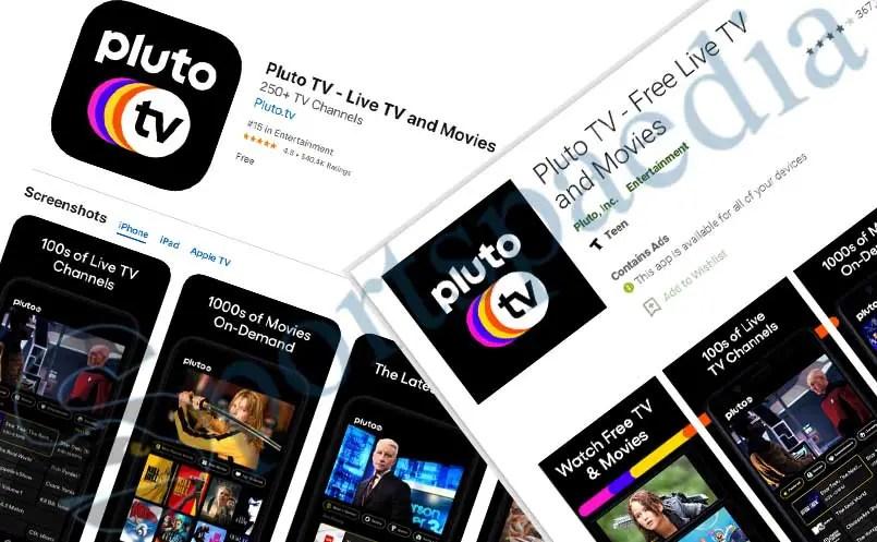 Pluto TV App- Free Live TV & Movies | App Downloads