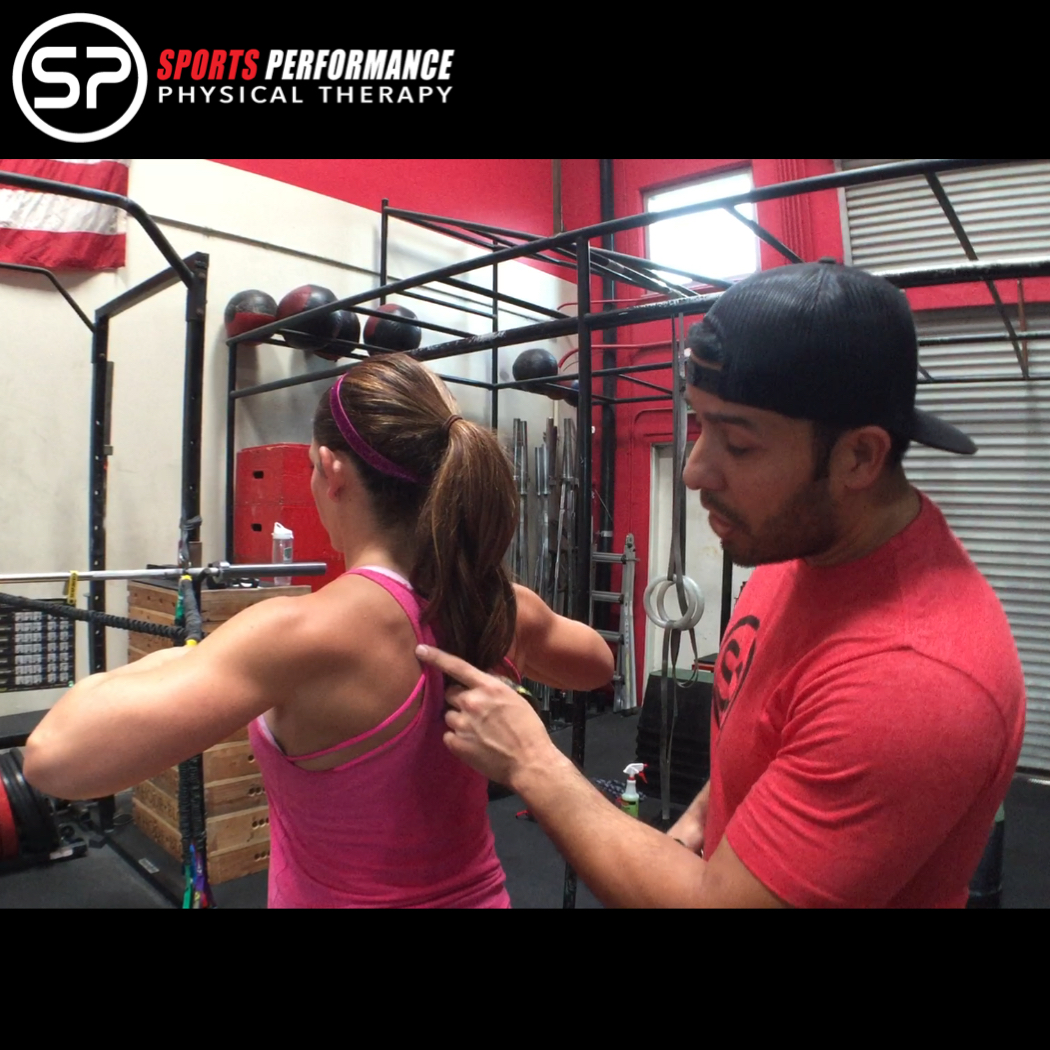 Crossover Symmetry Scapular Activation