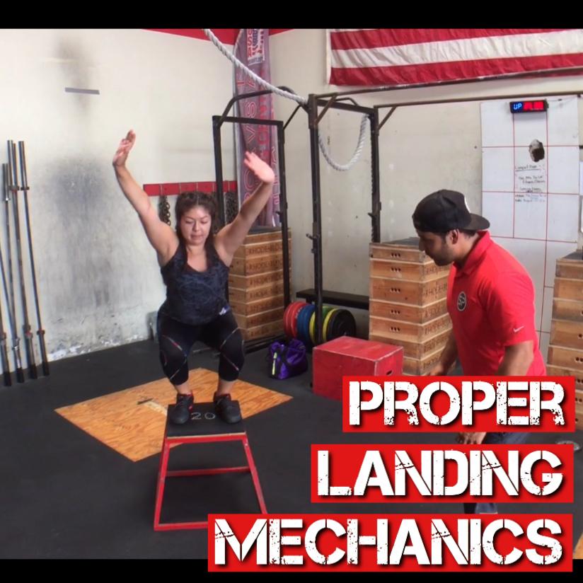 Proper Knee Landing Mechanics With Plyometrics