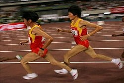 chinese runners