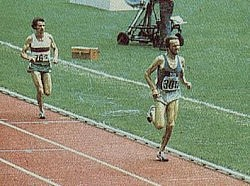Lopes in 1976 at the Olympic Games where he won silver behind Lasse Viren in the 10 000m event