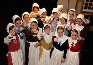 the crucible - salem girls