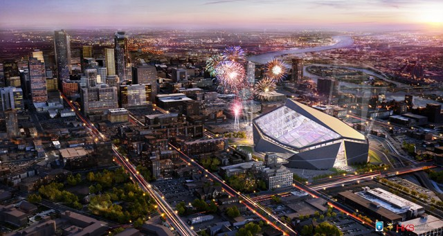 Minnesota Vikings Stadium Rendering 2