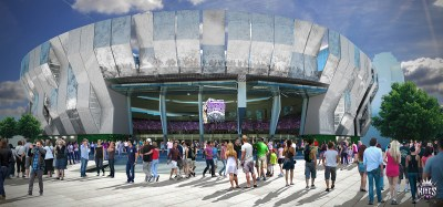 Rendering of New Arena in Sacramento
