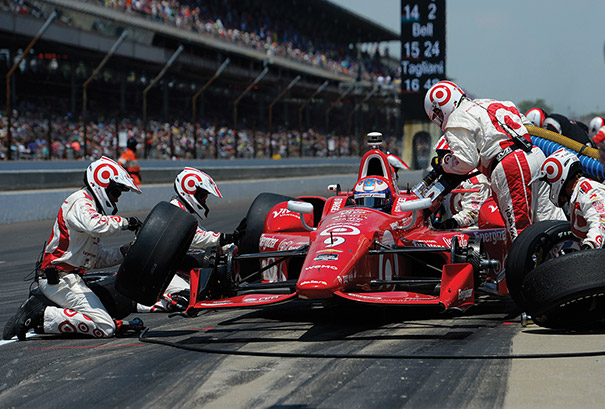 Scott Dixon, the 2015 IndyCar Series champion, competed at the Indianapolis 500, which will mark its 100th running on Memorial Day weekend. Photo by Robert Laberge/Getty Images