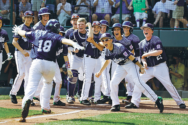 The Little League World Series has been staged in South Williamsport, Pennsylvania, since 1947. Today, the league hosts baseball and softball world series events for several age groups in cities nationwide. Photo courtesy of Gene J. Puskar/AP Images