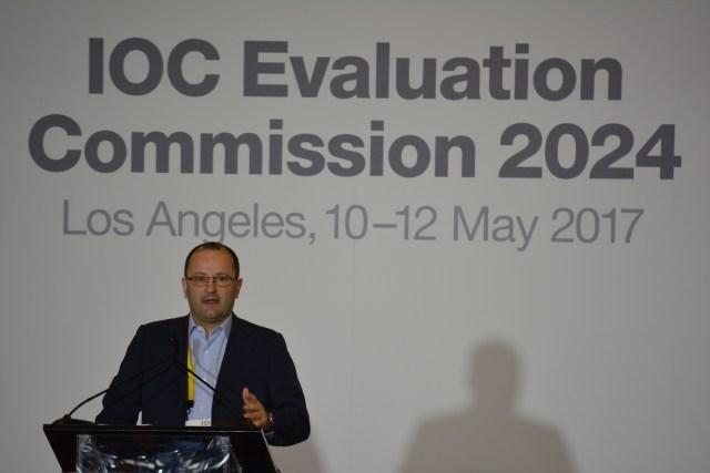 IOC Evaluation Commission Chairman Patrick Baumann