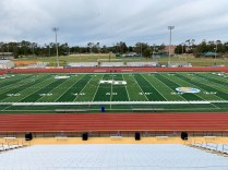 Doug Shaw Memorial Stadium recently completed a more than $5 million renovation.