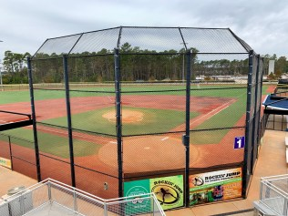 Formerly an air force base, the Grand Park Athletic Complex now features seven multipurpose fields and two youth fields that can host baseball, softball, lacrosse, soccer and football events.