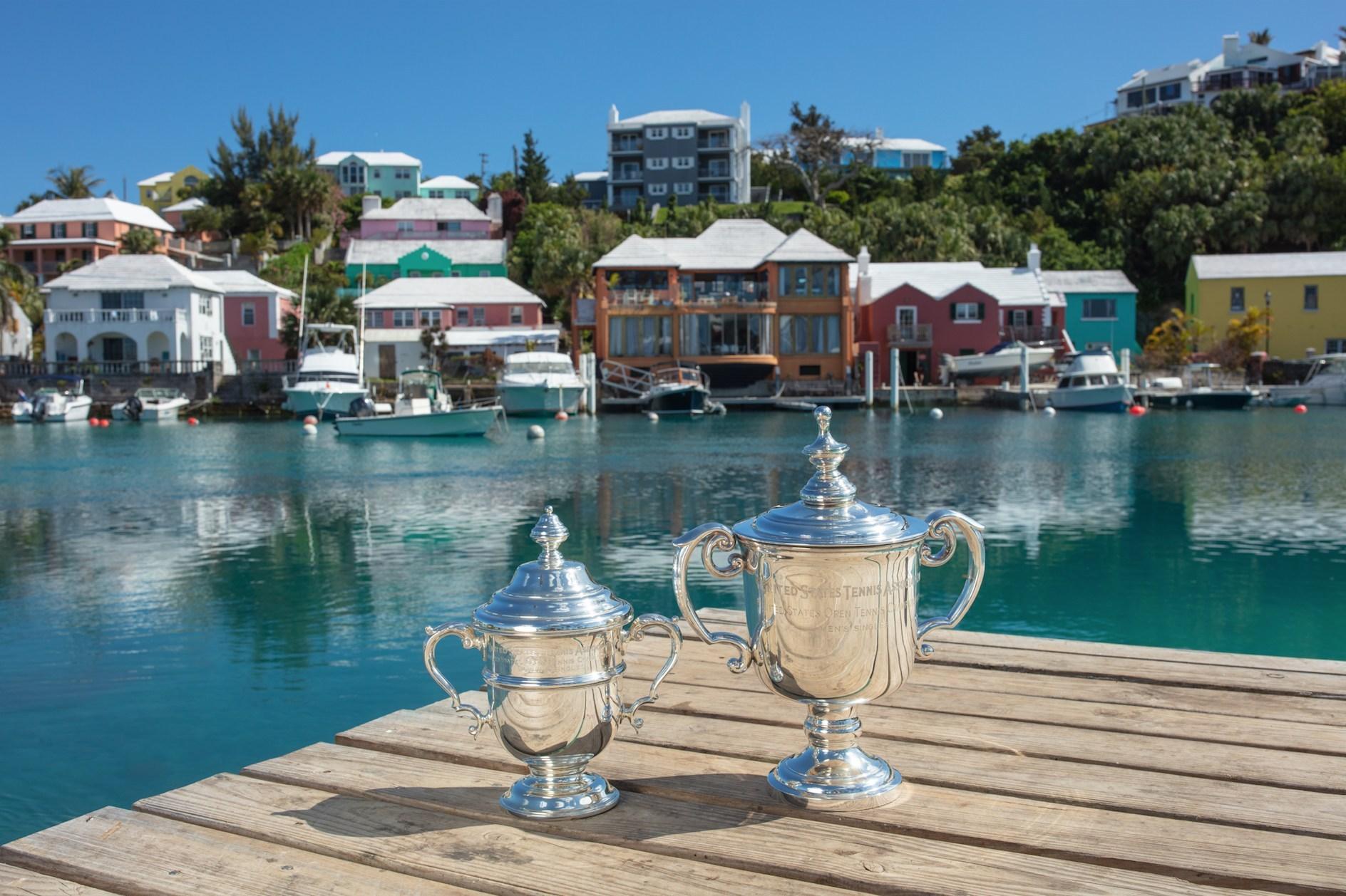 Bermuda Tourism Authority US Open trophies