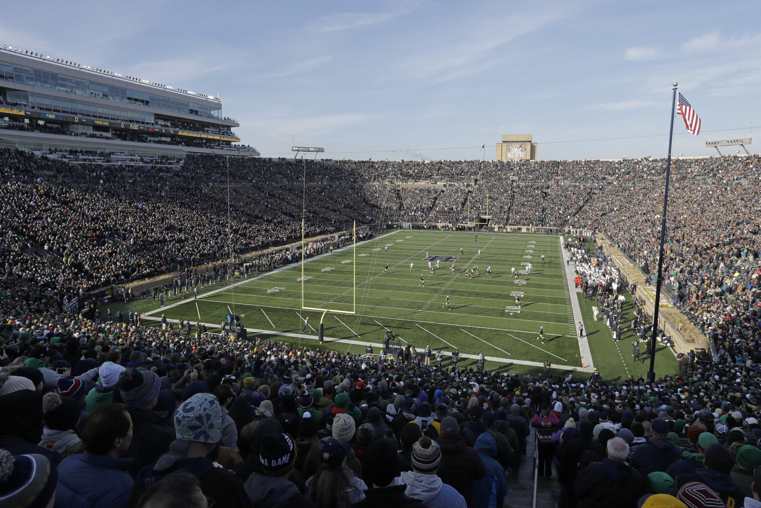 Navy Notre Dame Football