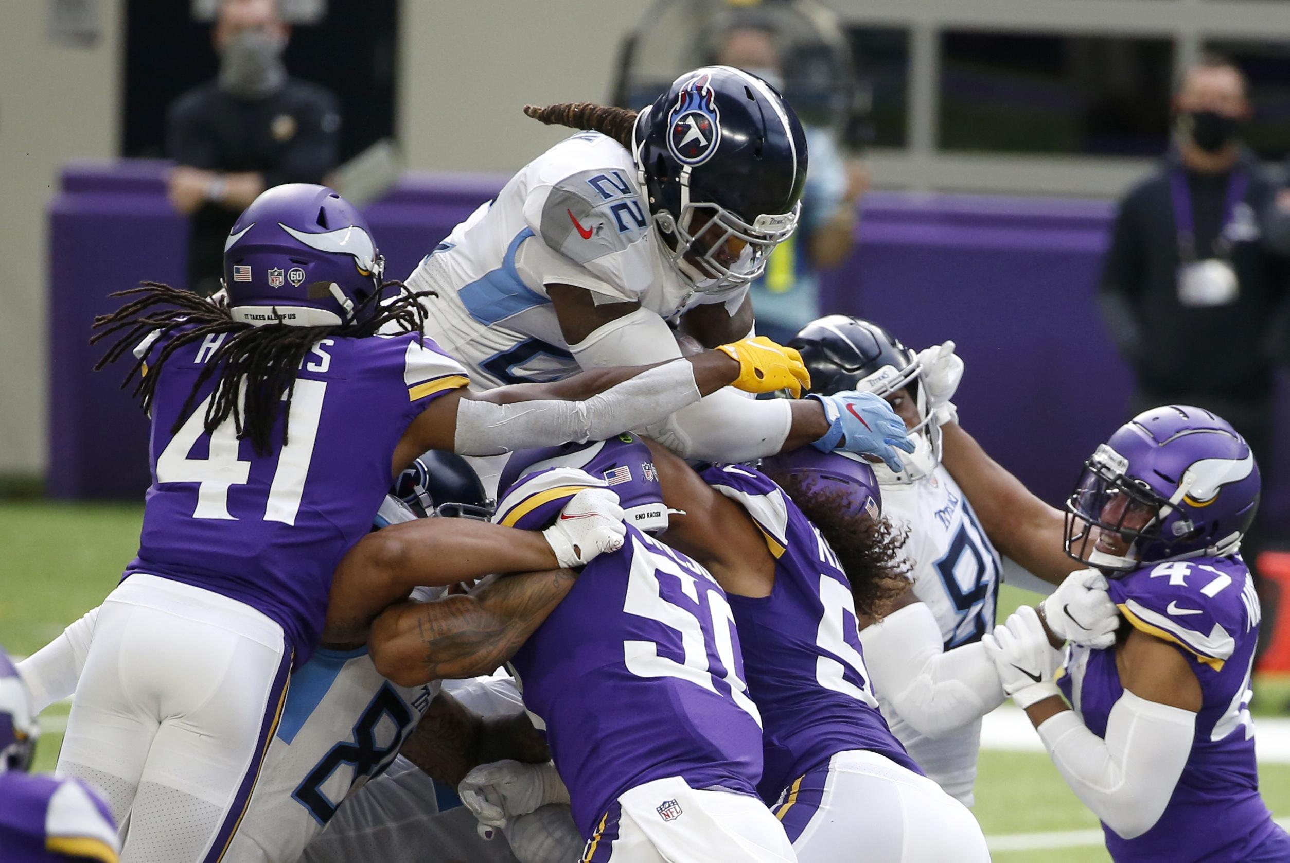 Titans Vikings Football