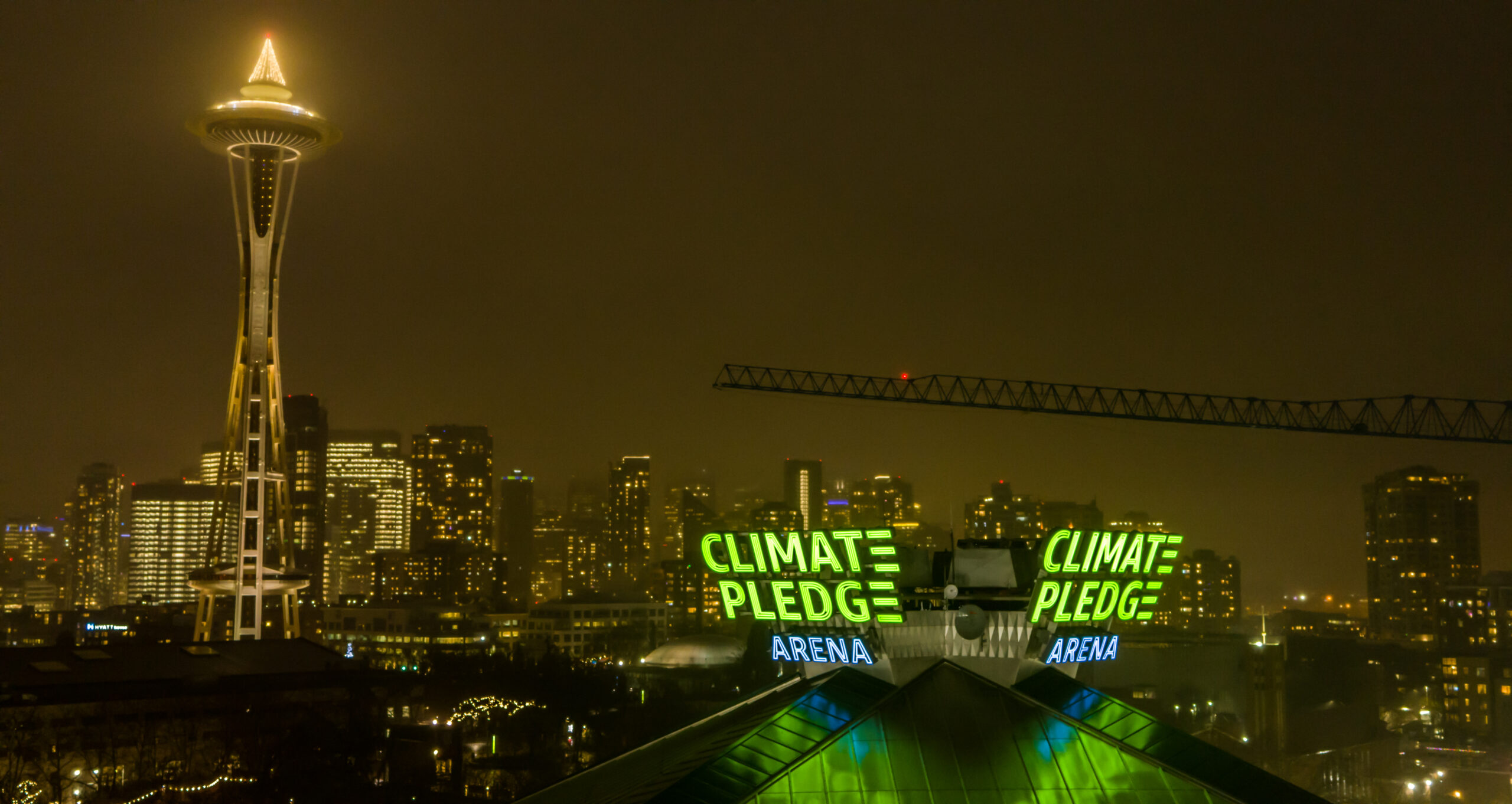 CPA Photo Sign Light Up Tight – cr Climate Pledge Arena