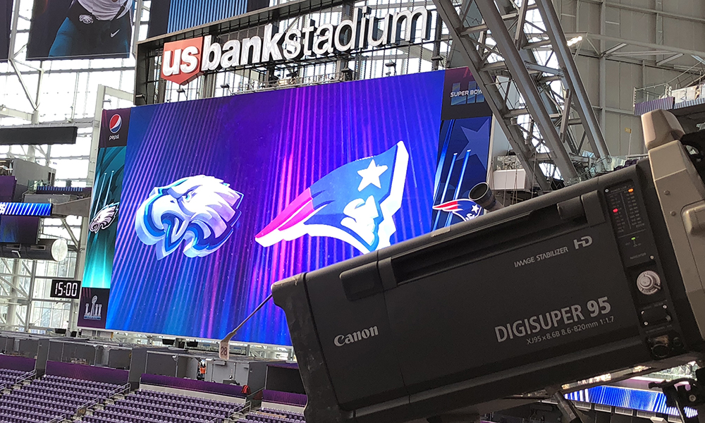 Nbc Sports Is Deploying A Total Of 73 Cameras For Its Coverage Of Super Bowl Lii On Sunday