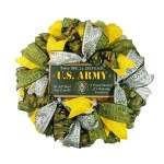 Army Door Wreath