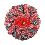 Louisville Cardinals Wreath