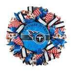 Tennessee Titans Wreath