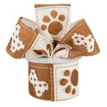 Brown Dog Ribbon