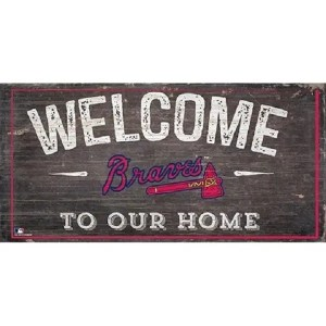Atlanta Braves Welcome Sign