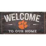 Clemson Welcome Sign