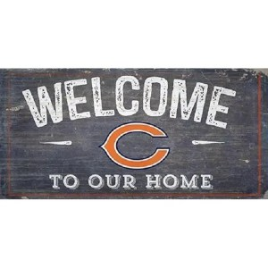 Chicago Bears Welcome Sign