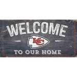 KC Chiefs Welcome Sign