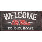 Ole Miss Welcome Sign
