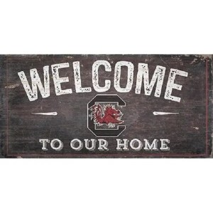 Gamecocks Welcome Sign