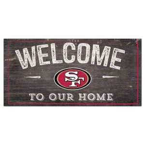 49ers Welcome Sign