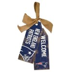 New England Patriots Tag Sign