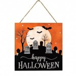 Happy Halloween Graveyard Sign