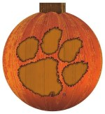 Clemson Halloween Sign