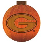 Georgia Bulldogs Halloween Sign