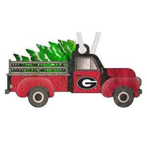 Georgia Christmas Truck Ornament