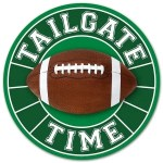 Football Tailgate Sign